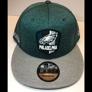 Philadelphia eagles green new era snapback hat